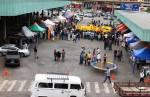 PM e Unimed promovem ação social na praça da rodoviária, em Lafaiete