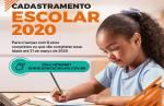 Começa hoje cadastramento escolar 2020 para a rede estadual