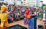 Congonhas: festival de Inverno leva programação especial à Praça JK e encanta crianças