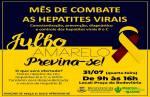 Julho Amarelo: vacinas e testes grátis contra hepatite serão oferecidos hoje em Lafaiete