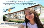 Aluna do Colégio Piedade de Congonhas é selecionada para curso na Universidade de Yale nos Estados Unidos