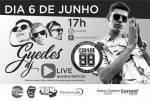 Rádio CIDADE e Jornal CORREIO na Live do Guedes Dj